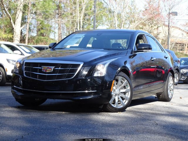 Pre-Owned 2017 Cadillac ATS Sedan Luxury RWD
