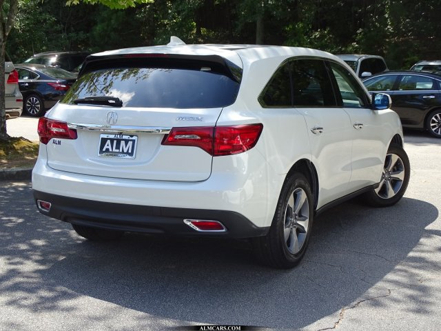 Pre-Owned 2016 Acura MDX Base