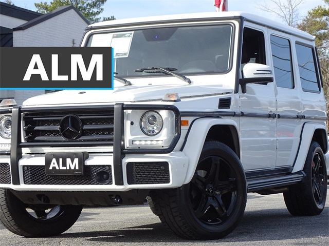 Pre-Owned 2017 Mercedes-Benz G-Class G 550